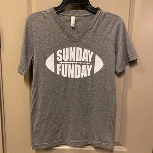 Bella Canvas Tops - Soft & distressed Sunday Funday tee